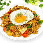 Fried noodles (Yakisoba)