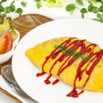 Fried-rice omelette