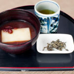 Zenzai (with Japanese tea)
